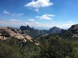 Formaciones rocosas de Montserrat