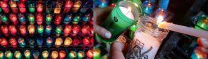 Encender una vela a Montserrat