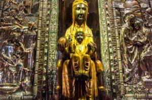La Moreneta, virgen de Montserrat